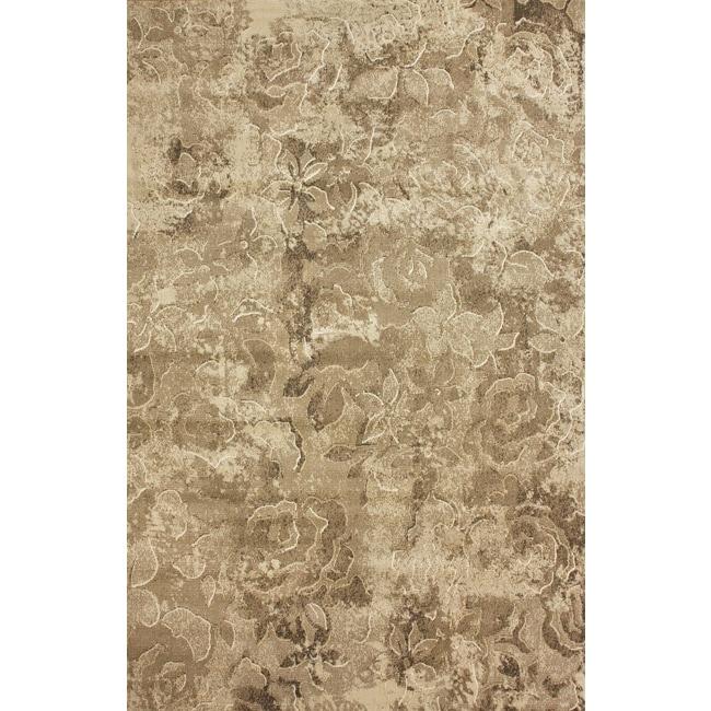 nuLOOM Beige Mosaic Rug - multi