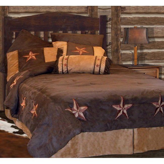 Star Faux Suede 7-piece Comforter Set