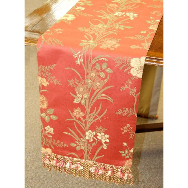 Italian Floral 86-inch Table Runner