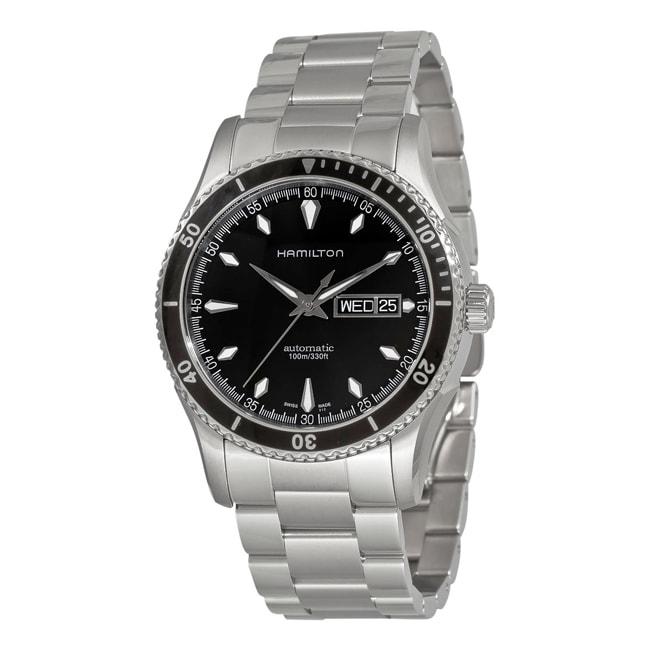 Hamilton Men's Automatic Black Dial Watch