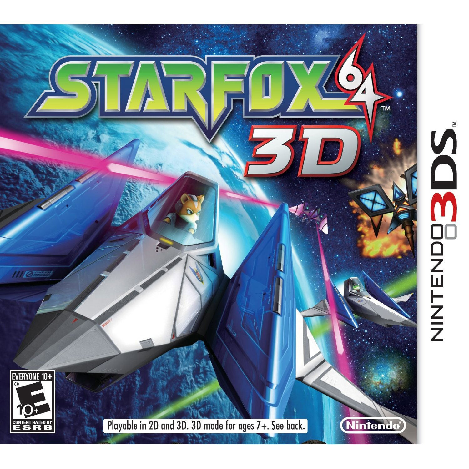 NinDS 3DS - Star Fox 64 3D - By Nintendo