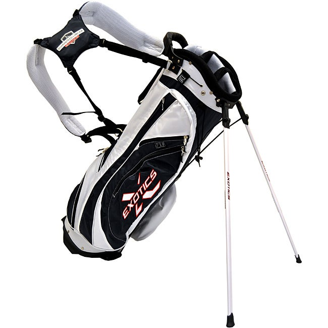 Tour Edge Exotics Xtreme Navy/ White Stand Golf Bag