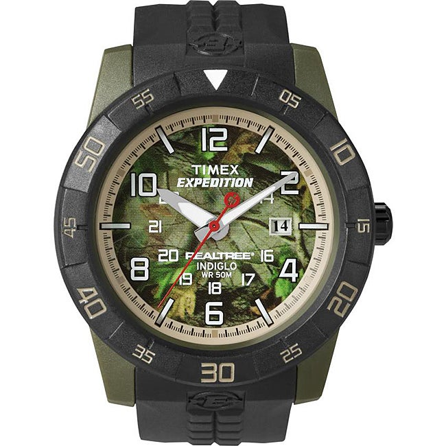 Timex T498489J Men's Expedition Rugged Analog Camo Watch