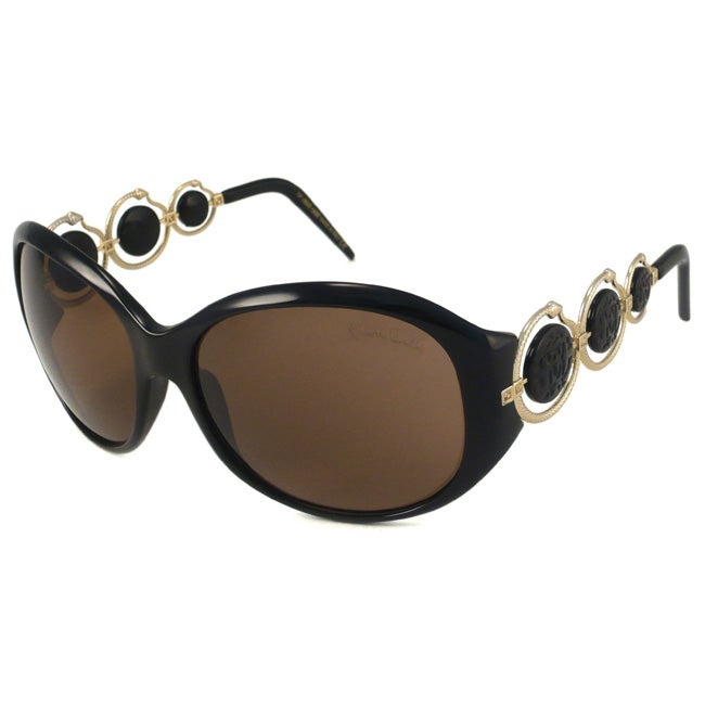 Roberto Cavalli Women's 'Blenda' Oval Fashion Sunglasses - Thumbnail 0