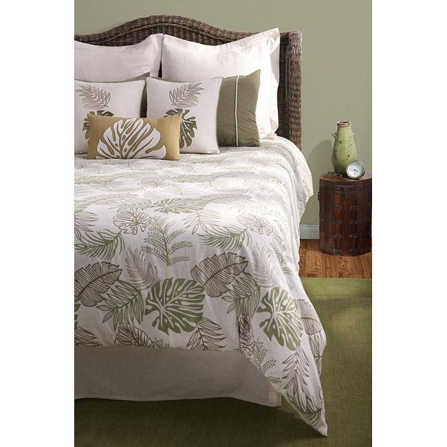 Rizzy Home Trinidad King-size 10-piece Duvet Cover Set with Insert