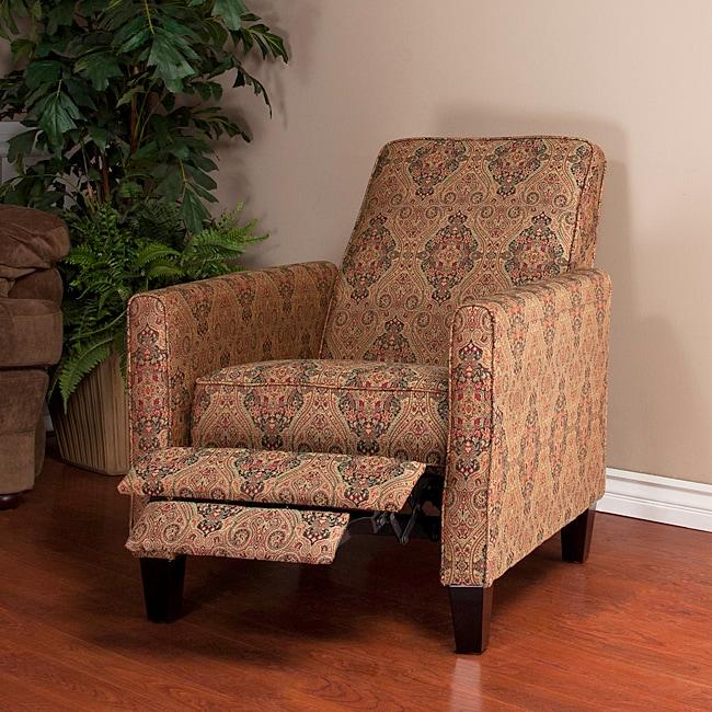 Paisley Recliner Club Chair