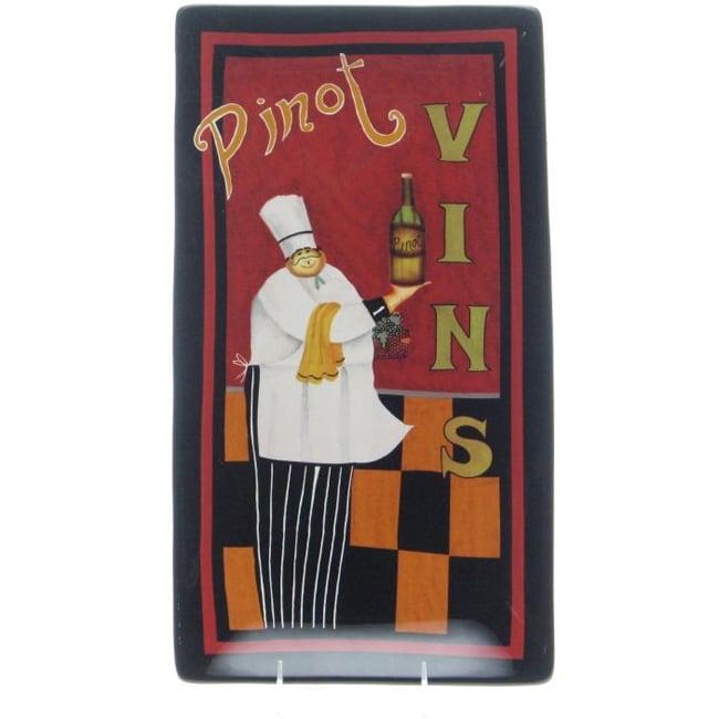 Certified International International Chefs 12.5-inch Rectangular Platter