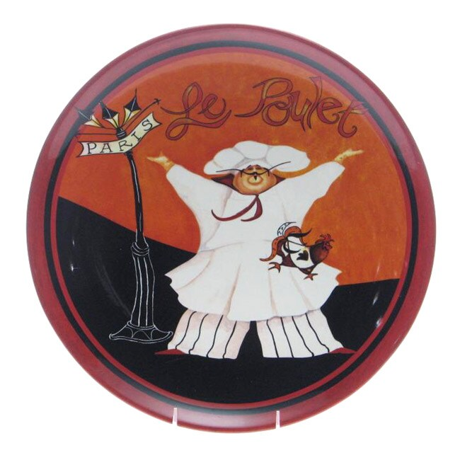 Certified International International Chefs 15-inch Round Platter