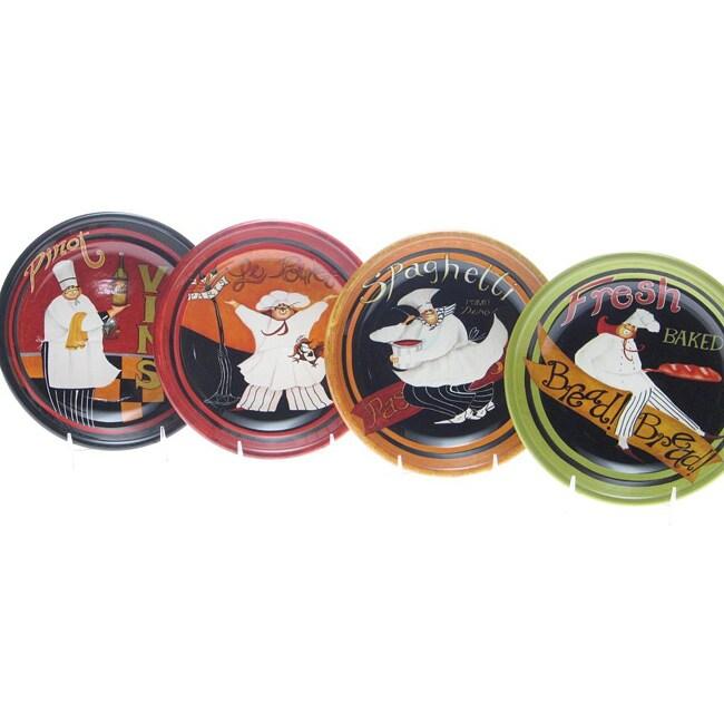 Certified International International Chefs 9.5-inch Soup/ Pasta Bowls (Set of 4)