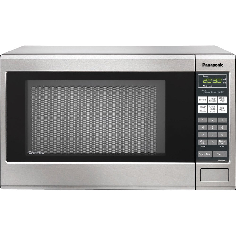 Panasonic Nn Sn661s Microwave Oven Free Shipping Today