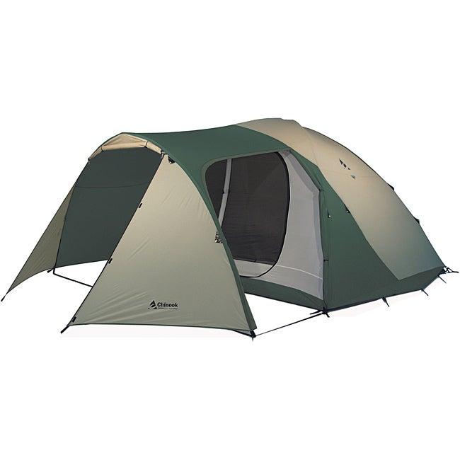 Chinook Tradewinds Lodge 6-person Fiberglass Tent