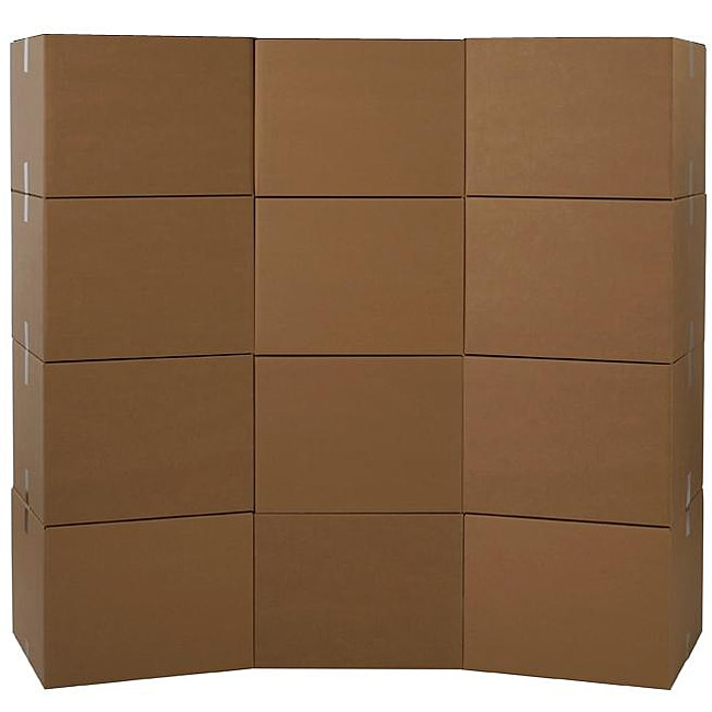 Large Moving Boxes (Pack of 12)