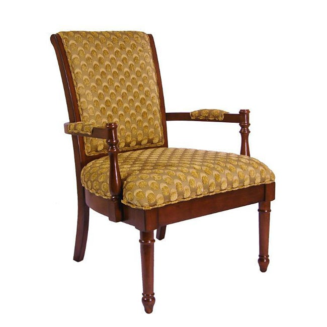 Ronson Gold Scaled Accent Chair Free Shipping Today