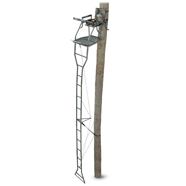 Ameristep Buckbuster 18 Inch Ladder Stand Free Shipping