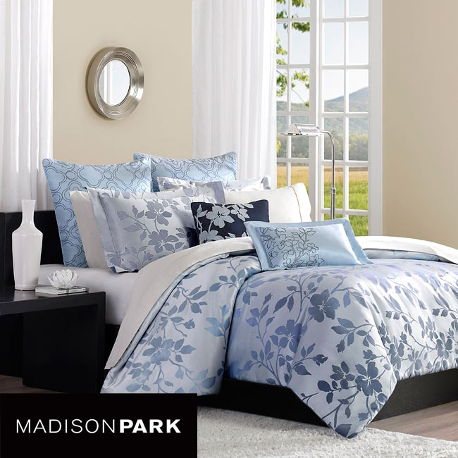 Madison Park Eden King Size 7 Piece Duvet Cover Set Free Shipping Today 6053300