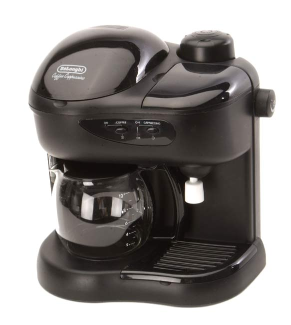 Delonghi CC80 Deluxe Coffee Cappuccino Machine (Refurbished) - Free Shipping Today - Overstock ...