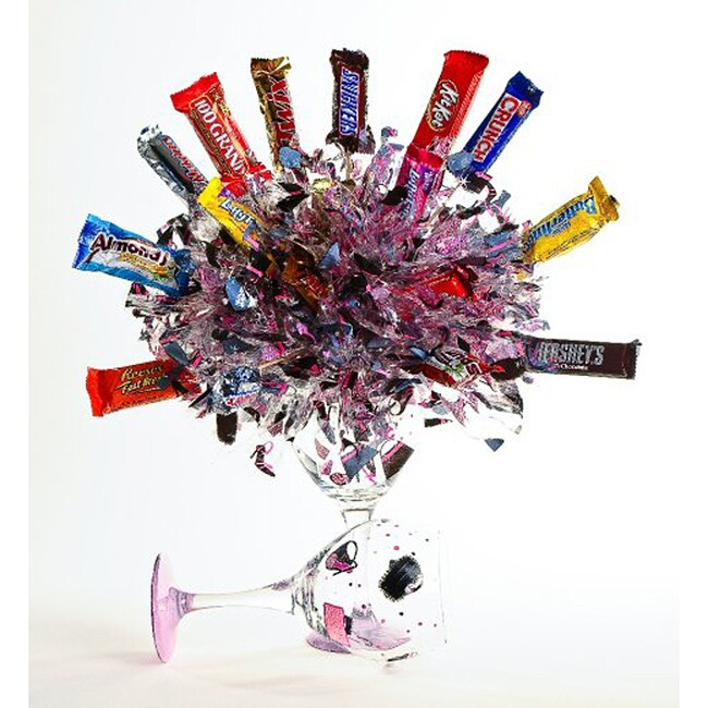 PartyPops Diva Assocorated Chocolate Candy Bouquet