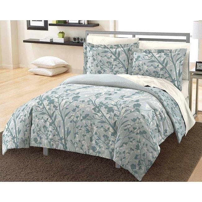 Shadow Field 3-piece Full/ Queen-size Mini Comforter Set