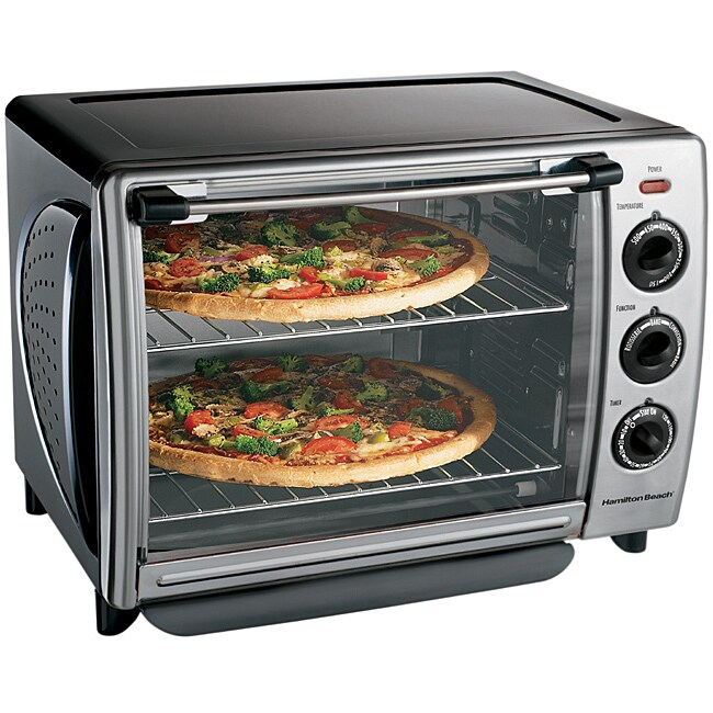 Hamilton Beach 31199XR Countertop Convection Oven - Free Shipping ...