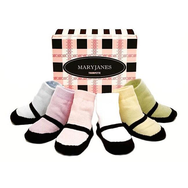 Trumpette Mary Jane Infant Sock Box Set