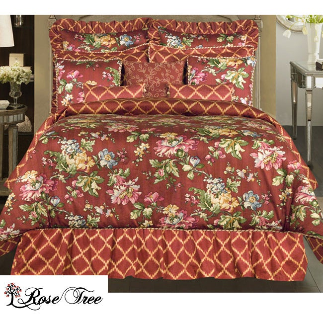 Rose Tree Cassandra King-size 4-piece Comforter Set - Thumbnail 0