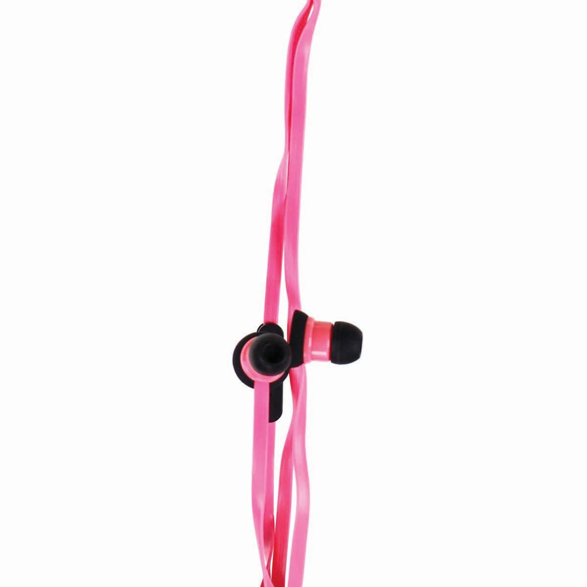 Ecko Stomp Pink Earbud and mic EKU-STP-PK