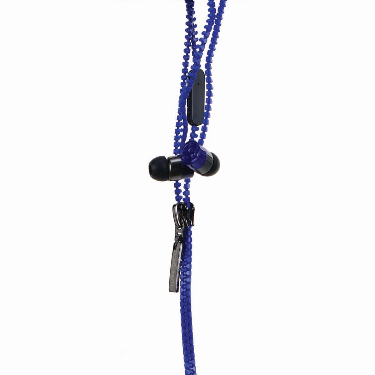 Ecko Zip Blue Earbud and mic EKU-ZIP-BL