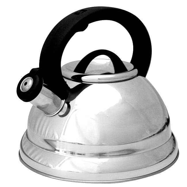 Prime Pacific Stainless Steel 3-quart Whistling Tea Kettle