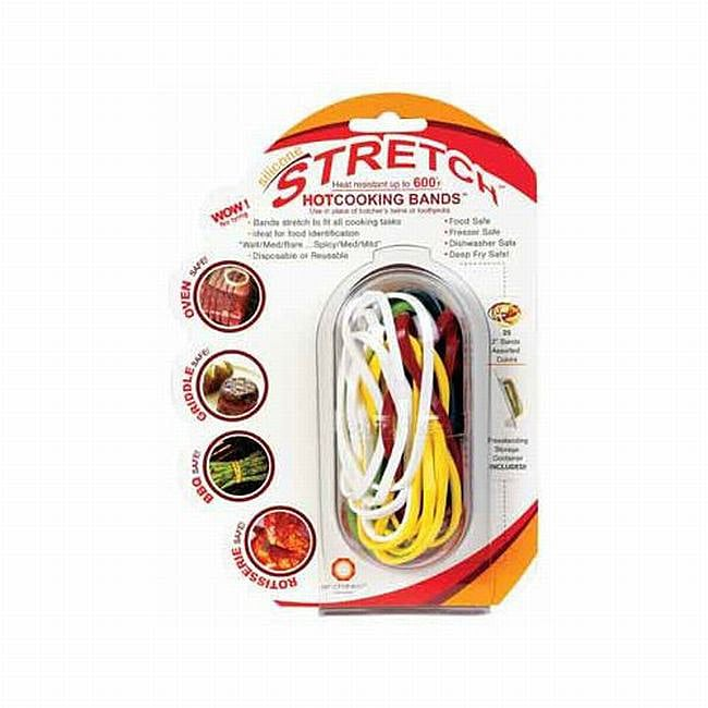 Stretch Silicone Cooking Bands (Case of 25)