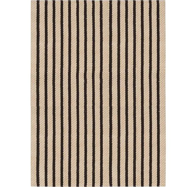 Country Living Hand-Woven Raina Striped Natural Fiber Jute Rug (8' x 10'6)
