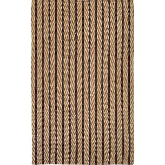 Country Living Hand-Woven Flynt Striped Natural Fiber Jute Rug (3'6 x 5'6)