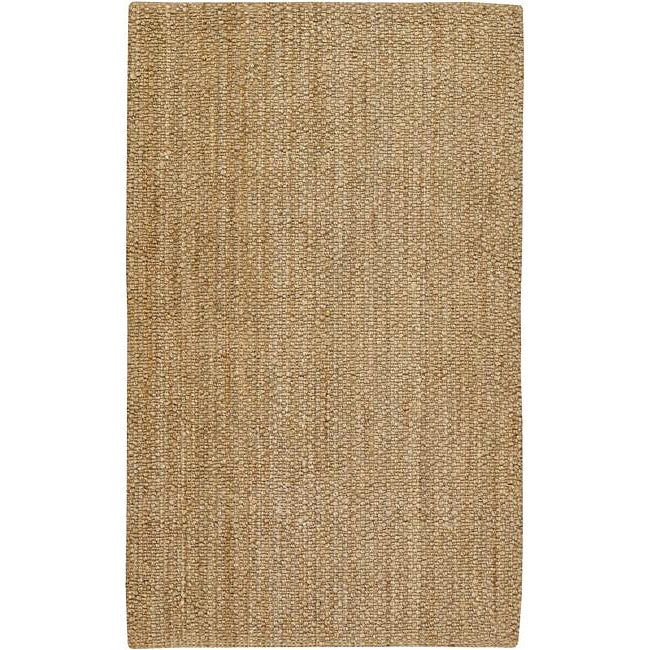 Country Living Hand-Woven Jasmine Natural Fiber Jute Rug (8' x 10'6)