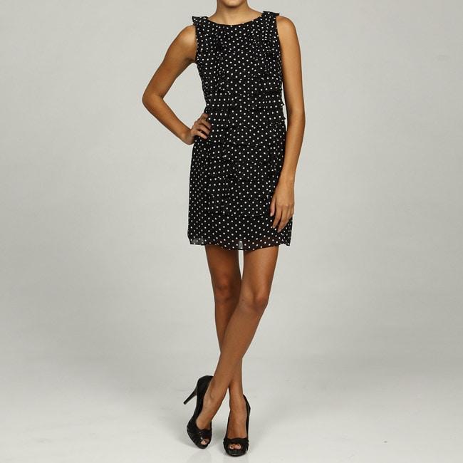 Jessica Howard Womens Petite Ruched Waist Dress