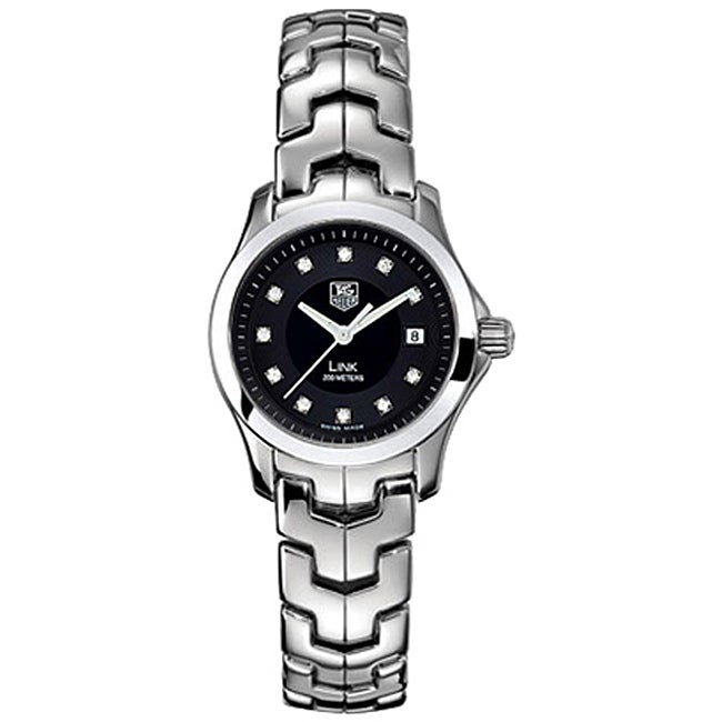 Tag Heuer Women's Link Stainless Steel Diamond Accent Watch