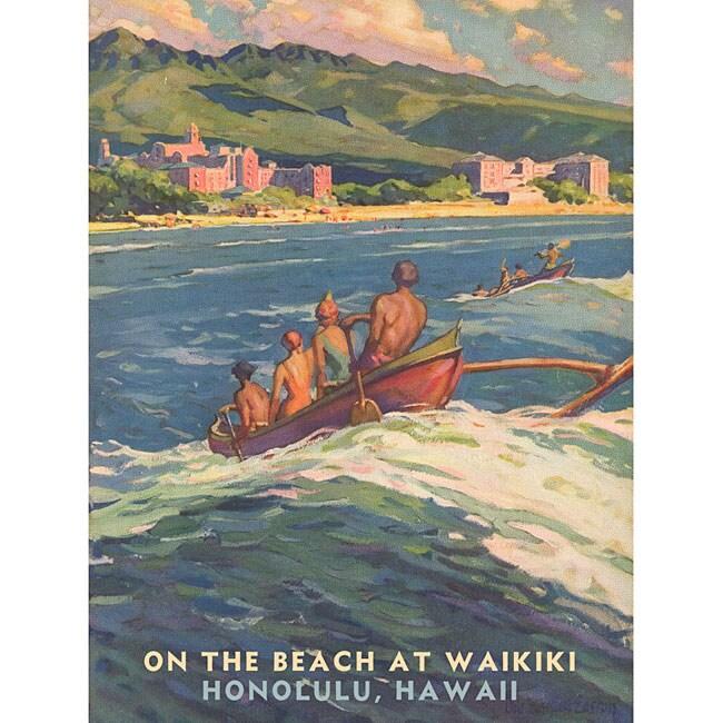 Artehouse 'Waikiki' Wood Sign