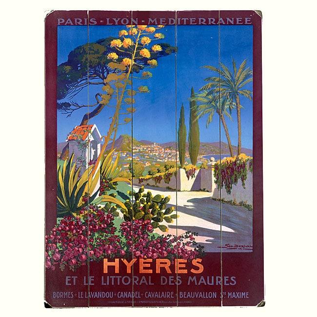 Artehouse 'Hyeres' Wood Sign