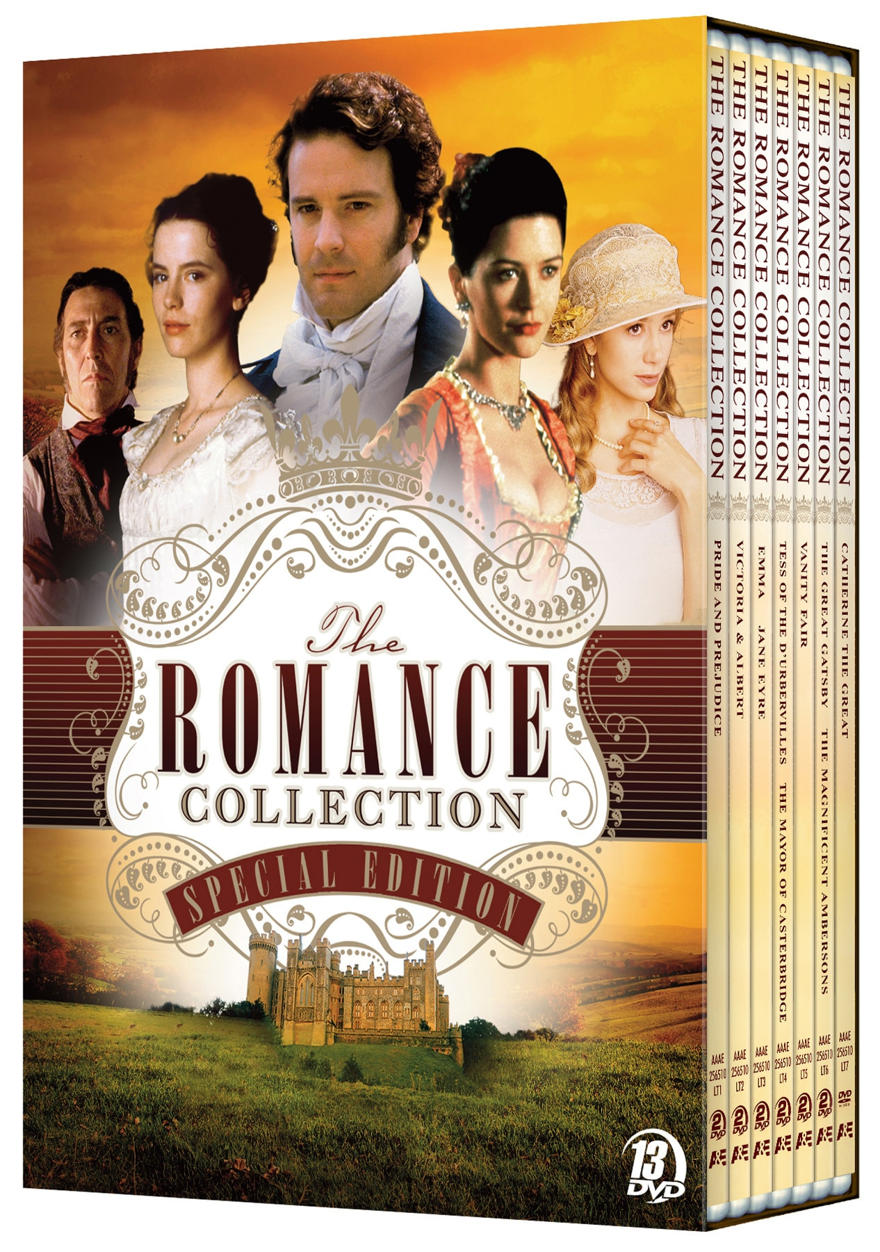 Romance Classics Collection (DVD) - Thumbnail 0