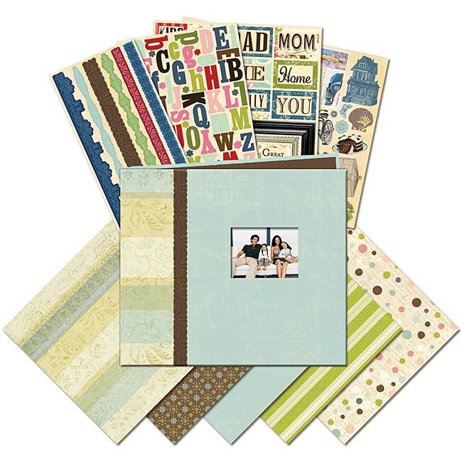 K & Company Family 8.5x8.5-inch Mega Scrapbook Kit
