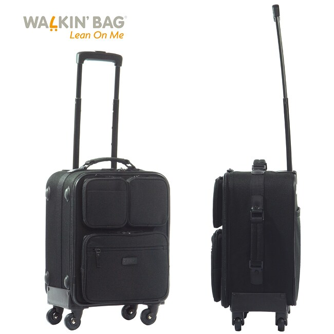 Walkin'Bag 18-inch Spinner Carry-on Luggage PocketBag - Free ...