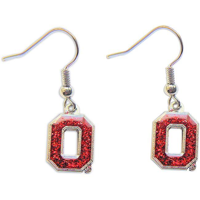 The Ohio State Buckeyes Dangle Earrings