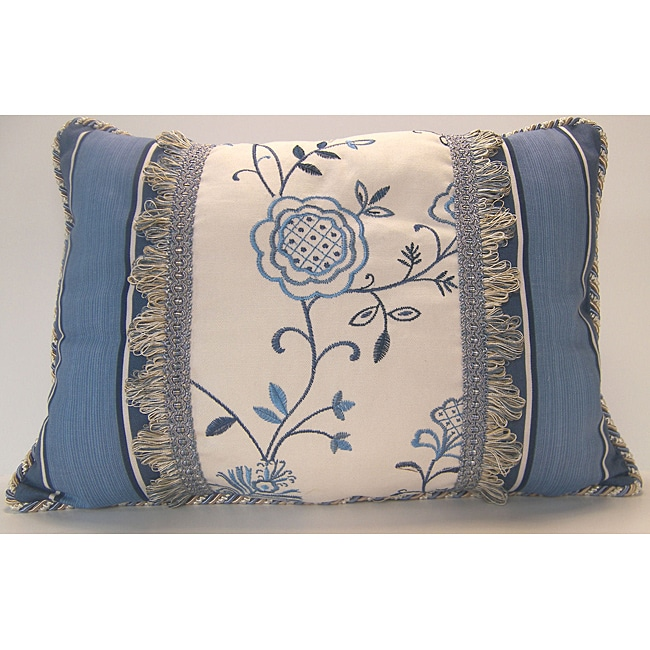 Belle Embroidery Three-piece Decorative Pillow