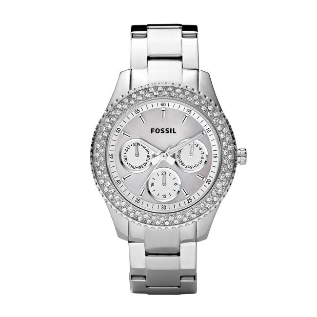 Fossil Women's 'Stella' Multifunction White Dial Watch