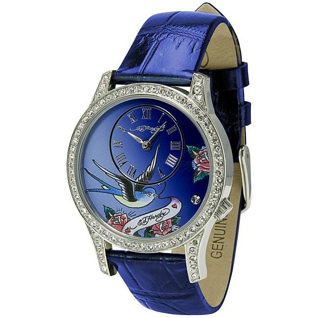 Ed Hardy Women's Blue Elizabeth Watch