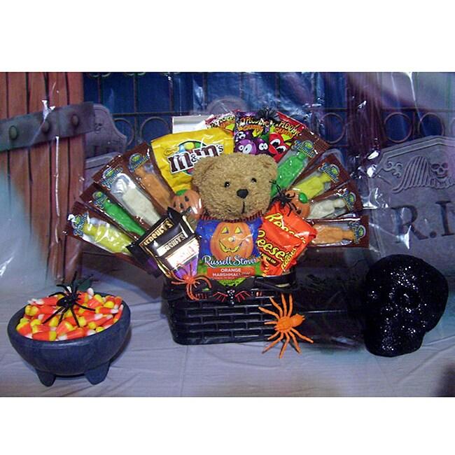 Halloween Chocolate Goodies Gift Basket