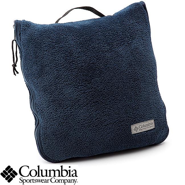 Columbia Coral Fleece Throw and Pillow Combination