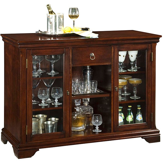 Lafayette Cherry Bar Cabinet Free Shipping Today