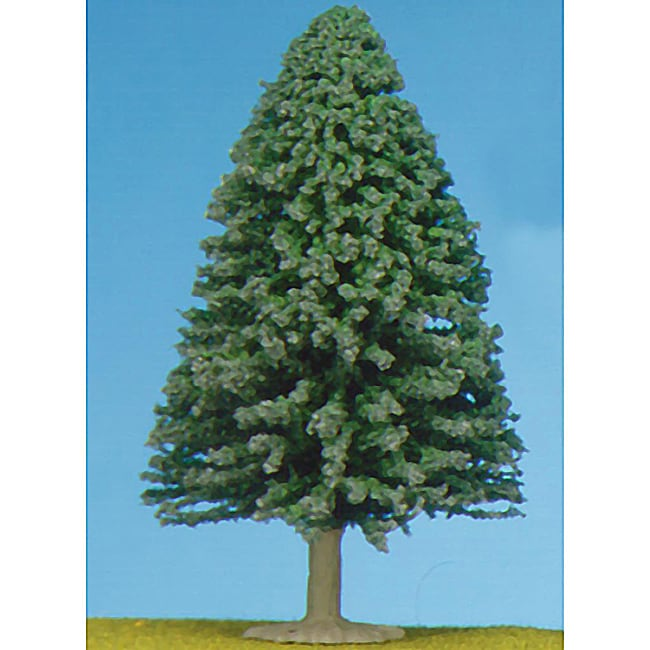 HO Scale 4-inch Large Evergreen Tree