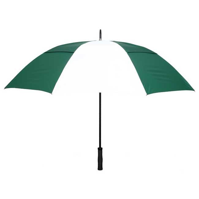 Rainkist Umbrellas 60-inch Hunter/White Nylon Umbrella