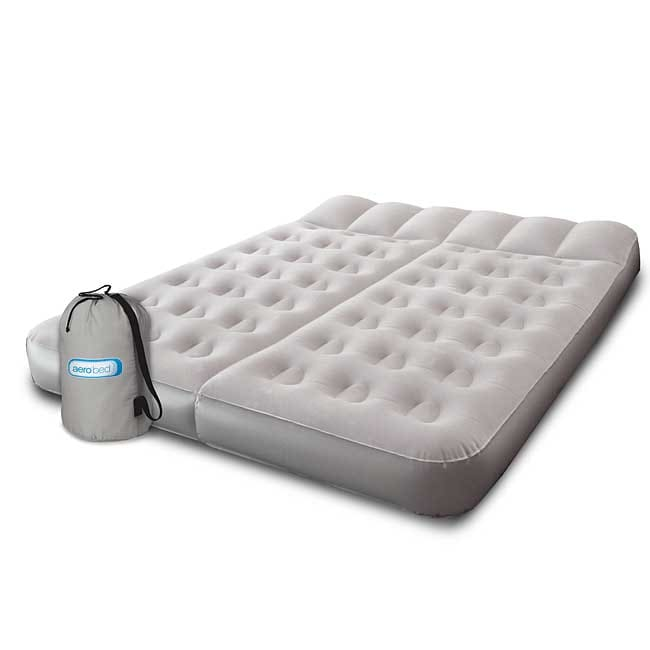 Shop Aerobed Dual Comfort Sleep Queen Size Airbed Free Shipping