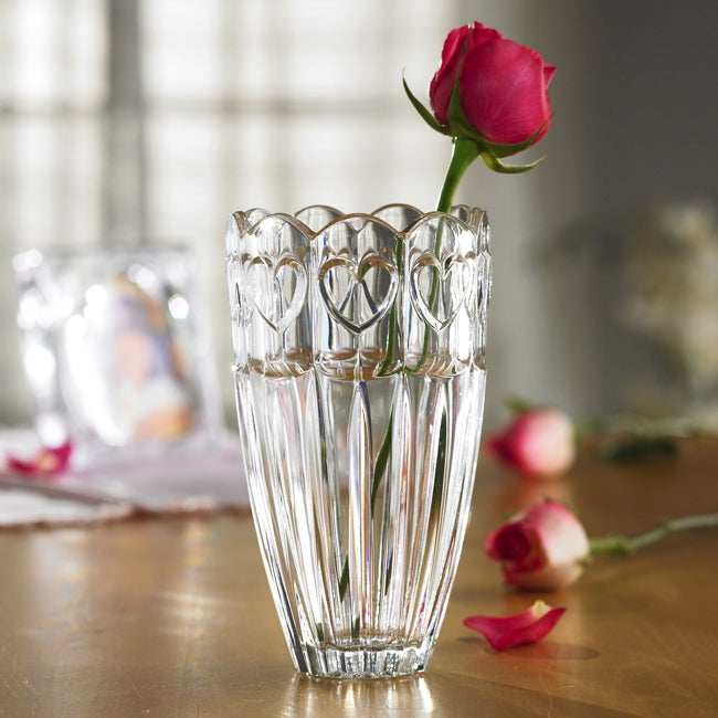 Fifth Avenue Crystal Sweetheart 7.5-inch Vase